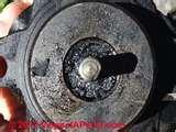 Pictures of Heat Pump Oil Leak